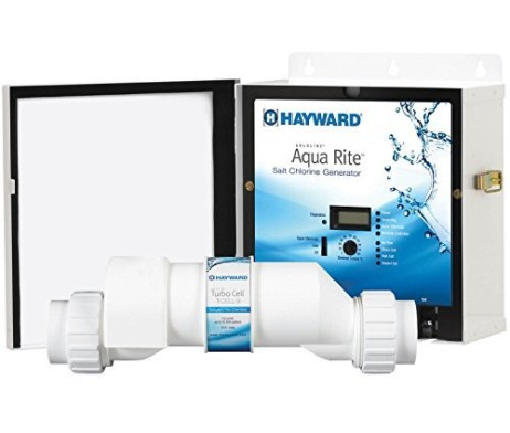 Hayward-AQR9-Goldline-AquaRite-Electronic-Salt-Pool-Chlorinator-Control-Box-Complete-with-25000-Gallon-Cell-B002WKFA4M